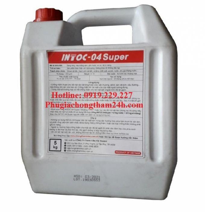 Chất chống thấm INTOC-04 Super