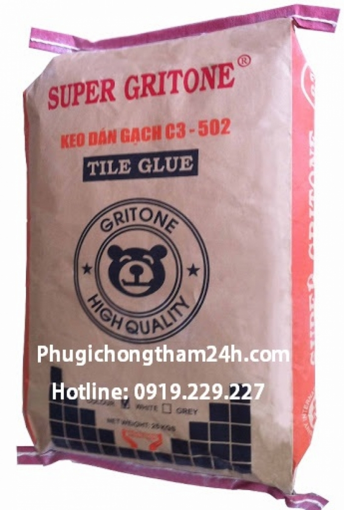Keo dán gạch Super Gritone C3 - 502 chính hãng