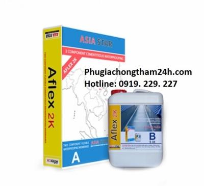 Chống thấm hai thành phần  Aflex 2K - Asia Star