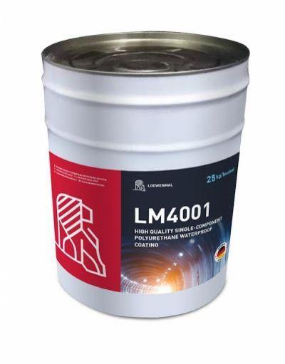 LOEWENMAL LM4001 - Chống thấm Polyurethane cao cấp 1 thành phần