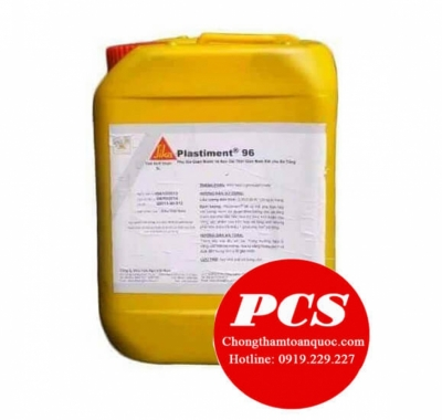 Sika Plasticment 96 - Phụ gia giảm nước và chậm đông kết bê tông