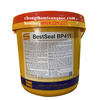 BestSeal BP411 Bestmix - Chống thấm Bitument-Acrylic