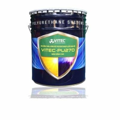 Vitec Pu 270 - Sơn chống thấm, chống nứt Polyurethane 1k, gốc dung môi, bám dính cao