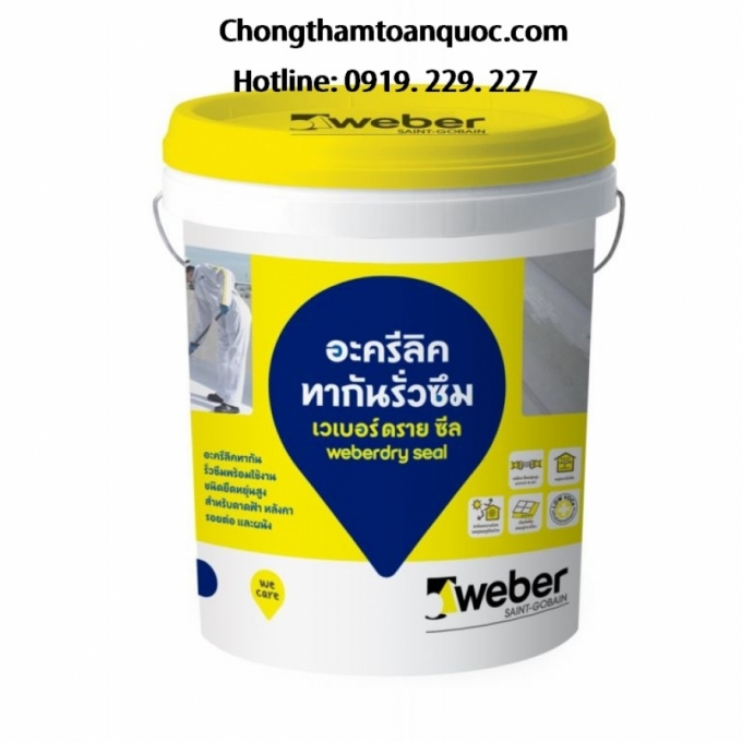 Weberdry Seal - Chống thấm gốc Acrylic